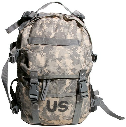 GI Issue MOLLE II SDS ACU Assault Pack 3 Day Backpack
