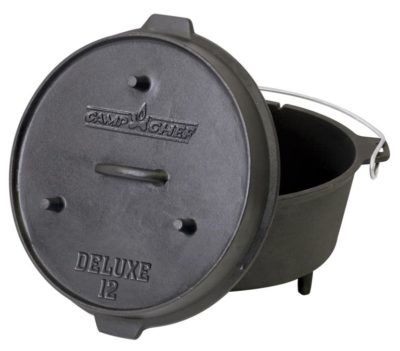Camp Chef Deluxe 12 inch Dutch Oven 7 qt.