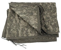 GI Issue Wet Weather Poncho Liner ACU or Wobbie