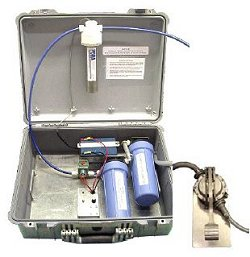 Partner Steel Motorized Aqua Partner Purification Unit in Pelican Case with Foot-Pump
