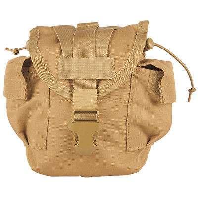GI Issue MOLLE 1 qt Canteen General Purpose Pouch Tan