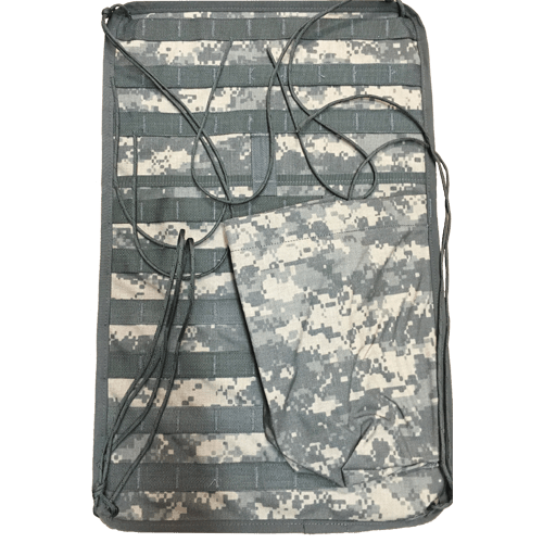 GI Issue USGI MOLLE II Vehicle Panel Storage (MVP) ACU Camo