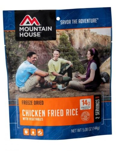 Mountain House Freeze Dried Chicken Fried Rice with Vegetables 2.5 Servings