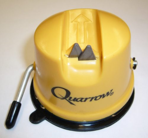 Quarrow Knife Sharpener With Suction Base